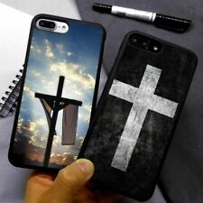 Christianity Cross Jesus Silicone Phone Case Cover For iPhone Samsung Galaxy
