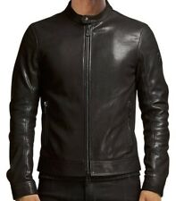 Belstaff Gransden Herren Leder-Jacke Blouson schwarz Gr.50 L Leather Jacket Man
