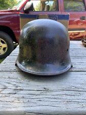 New listing Ww2 German Police Helmet Original Stamped