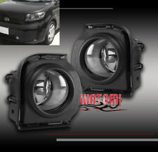 08 09 10 SCION XB FRONT BUMPER DRIVING FOG LIGHTS LAMP CHROME W/HARNESS+SWITCH