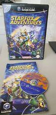 Nintendo GameCube Game Cube Starfox Adventures. muy Coleccionable. Star Fox