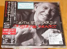 "Keith Richards ""Crosseyed Heart"" JAPAN SHM-CD CD sealed OBI"
