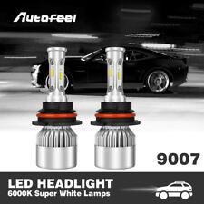 9007 HB5 LED Headlights Low / High Dual Beam Bulbs Kit 1620W 243000LM 6000K