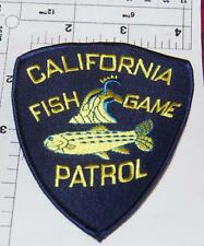Very Early California Fish & Game Patrol Shoulder Patch Quail Design Free Ship