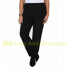 Bootcut Casual Trousers Plus Size for Women