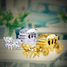 Gold Silver Carriage Candy Chocolate Boxes Party Birthday Wedding Favor Gift New