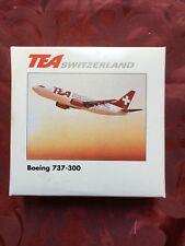 Boeing 737-300 - 1:500 Aircraft Model-TEA Switzerland-Herpa Wings - 500456