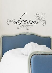 Wall Pops Wall Words Home Decor dream  Free Shipping!!