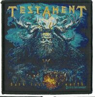 Testament Patch Dark Root of Earth Woven Patch