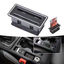 For 2012-2015 VW Golf MK7 Interior Center Console Card Holder Slot Storage