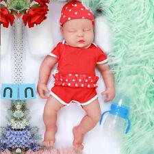 IVITA 47 Cm Full Body Silicone Reborn Doll Eyes Closed Sleeping Baby Girl 3700g