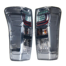 2X Rear Left&Right Smoked Tail Light Brake LED For Isuzu DMax D-Max Ute