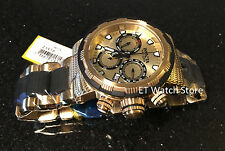@NEW Invicta Specialty Capsule Edition Swiss Parts Quartz 23978 Gold Tone Watch