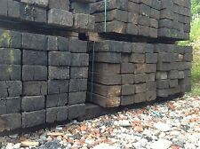 Reclaimed Wooden Railway Sleepers Grade A Pine LANDSCAPING