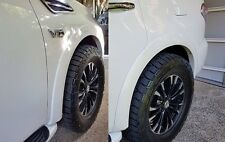 OEM Styled Fender Flares - Flared Guards - Nissan Patrol Y62 - Painted QAA White