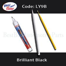 ly9b//y9b negro número del color barniz transparente Lápiz de pintura set apto para Audi//VW