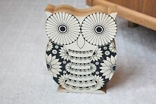 "9.5"" tall Hobby Lobby Wood Painted Owl Wooden Decorative Decoration"