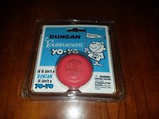 Duncan Wooden Crossed Flags Tournament Vintage-Replica YoYo - Red