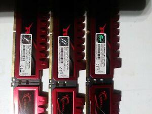 G.SKILL Ripjaws 24GB Kit (6 x 4GB) DDR3-1600 Desktop Memory F3-12800CL9T2-24GBRL