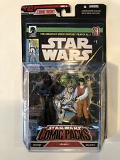Star Wars Comic Packs REBEL OFFICER 3.75 DARTH VADER 30th Dark Horse ANH 2007