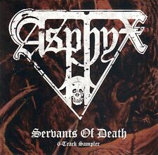 CD • ASPHYX • 2016 • SERVANTS OF DEATH • (German Legacy Exclusive) • LIKE NEW!