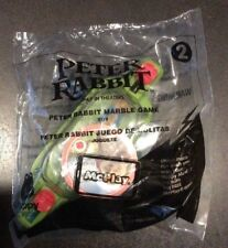 McDonalds Happy Meal - Peter Rabbit - Marble Game #2 - Brand New