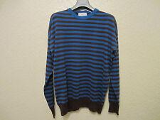 Ami Striped Linen-Cotton-Blend Sweater