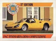1967 Pininfarina Dino Competizione, Dream Cars Trading Card --- Not Postcard