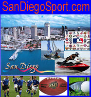 San Diego Sport .com Website Domain Name Boats Jet Ski Running Surf Roller Blade