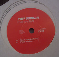 "PUFF JOHNSON ~ Over And Over ~ 12"" Single PROMO"