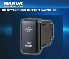 Narva OE Style Toyota Switch Push Button AUX LIGHTS *Hilux *Cruiser *RAV *Prado