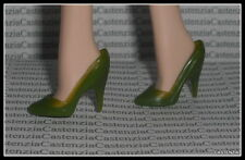 SHOES MATTEL BARBIE DOLL THE CALLA LILY GREEN  PUMPS HIGH HEEL SHOES ACCESSORY