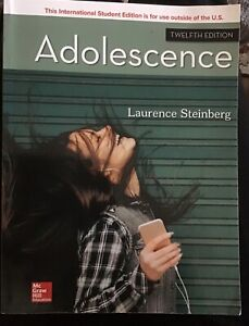 Adolescence by Laurence Steinberg 12th International Edition