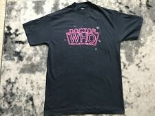 Doctor Who American  fan club 1984 vintage Promotional T shirt