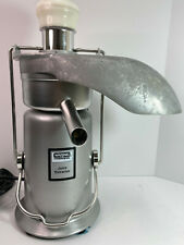 Waring Commercial Juice Extractor Je2000 Model 31je54 Professional Juicer Italy