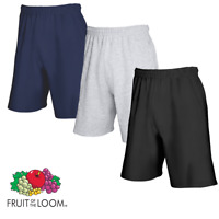 New Mens Boys Fruit of the Loom Lightweight casual Summer Shorts S-2XL - SS955