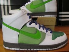innovative design ab4e8 336bc Ds Nike Dunk Alto Bianco Victory Mela Verde Grigio 11 317982 107 Supreme  Off Air