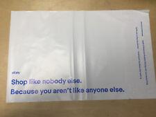 "100 count eBay Branded Polyjacket Envelopes, Polymailer Envelopes 10"" x 12.5"""