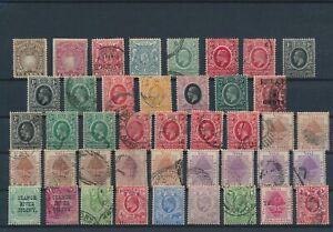LN24872 Great Britain territories british monarchs fine lot used