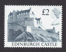GB QE2 CASTLES 1988 SG1612 £2 low OBA (low optical brightener) variety UMNH **