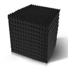 Alpha 40pcs Studio Acoustic Foam Sound Absorption Panels Eggshell 50x50cm