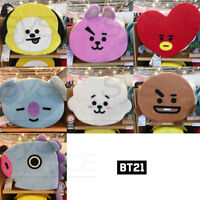 BTS BT21 Official Authentic Goods Sitting Cushion 7Characters +Tracking Number