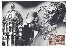 CARTE MAXIMUM 1er JOUR - N° 898 - MEDECINS MILITAIRES - ANNEE 1951 - Avec Pub
