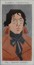 Single: No.27 SIR MARTIN HARVEY - STRAIGHT LINE CARICATURES - John Player 1926