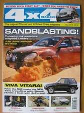 4 x 4 4x4 Magazine May 2015 Suzuki Grand Vitara Hummer Land Cruiser