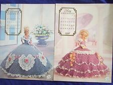 VINTAGE 1992 ANNIES ATTIC COTILLION COLLECTION MAY-FEB  CROCHET DOLL PATTERNS