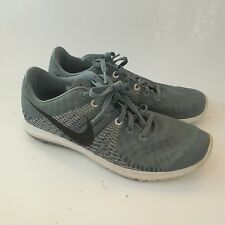 Nike Flex Fury Running Shoes Light Sneaker 705298-401 Mens 7 Med Gray No Insoles