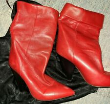 Isabel marant boots Size 38 Red Ankle