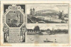 Magdeburg, Schwimm-Verein, Verbandstag des Deutschen Schwimmverbandes 1911