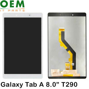 """Samsung Galaxy Tab A 8.0"""" 2019 T290 LCD Display Touch Screen Digitizer White New"""